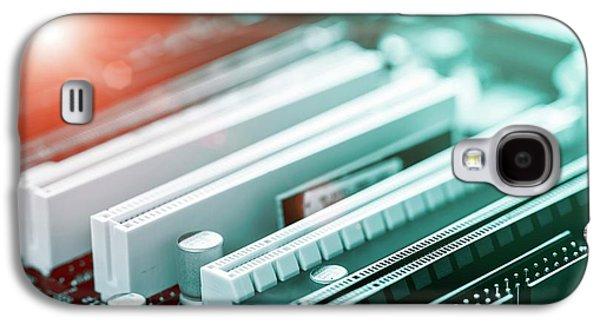 Printed Circuit Board Galaxy S4 Case by Wladimir Bulgar