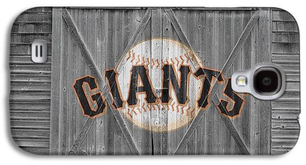 Foul Ball Galaxy S4 Cases - San Francisco Giants Galaxy S4 Case by Joe Hamilton
