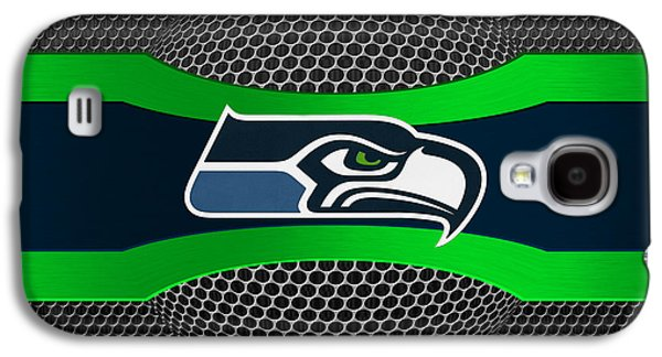 Nfl Galaxy S4 Cases - Seattle Seahawks Galaxy S4 Case by Joe Hamilton