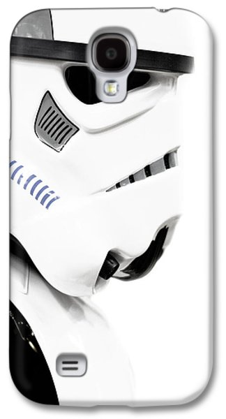 Character Portraits Mixed Media Galaxy S4 Cases - Star wars stormtrooper Galaxy S4 Case by Toppart Sweden