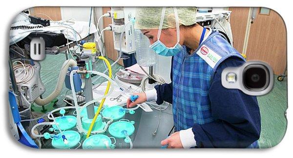 Surgery Preparations Galaxy S4 Case by Mark Thomas
