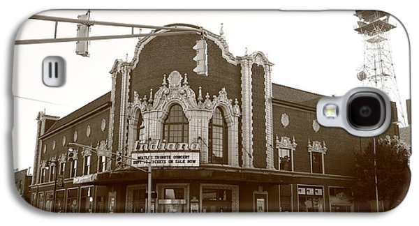 Indiana Scenes Galaxy S4 Cases - Terre Haute - Indiana Theater Galaxy S4 Case by Frank Romeo