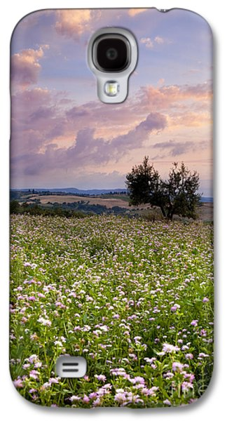 Tuscan Sunset Galaxy S4 Cases - Tuscany Galaxy S4 Case by Brian Jannsen
