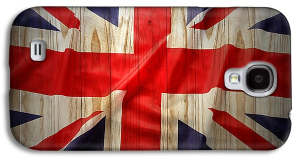 Democratic Galaxy S4 Cases - Union Jack  Galaxy S4 Case by Les Cunliffe