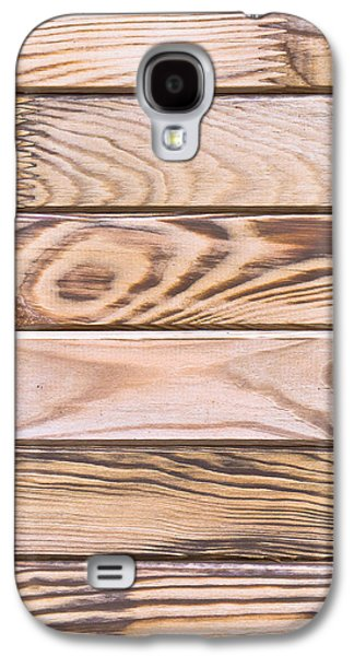 Flooring Galaxy S4 Cases - Wooden panels Galaxy S4 Case by Tom Gowanlock