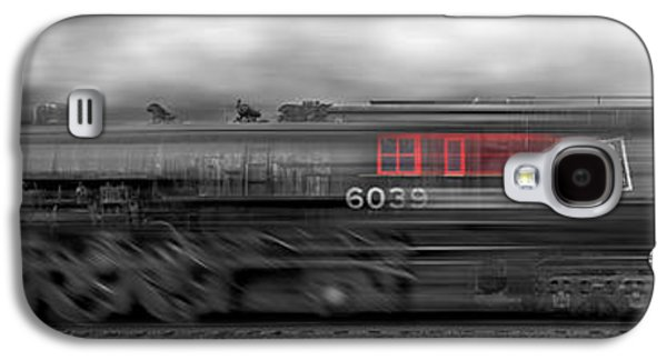 Smoke Digital Galaxy S4 Cases - 6339 On the Move Panoramic Galaxy S4 Case by Mike McGlothlen