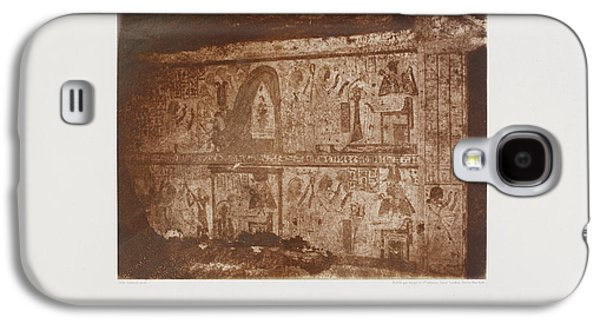 Photograph Of The Egyptian Landscape Galaxy S4 Case by British Library