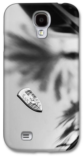 Transportation Photographs Galaxy S4 Cases - 1973 Porsche 911 E Targa Emblem Galaxy S4 Case by Jill Reger