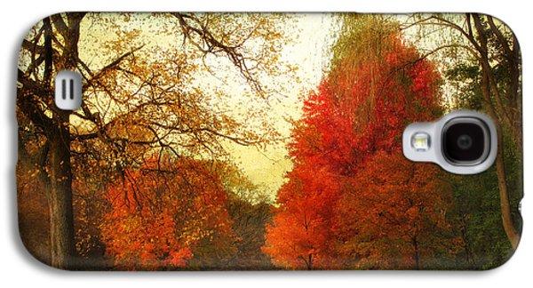 Autumn Promenade Galaxy S4 Case by Jessica Jenney