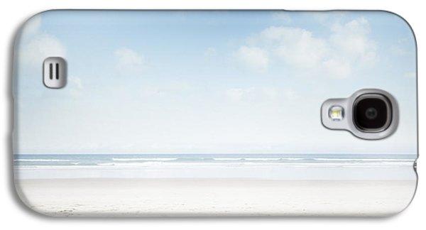 Beach Landscape Galaxy S4 Cases - Beach Galaxy S4 Case by Les Cunliffe