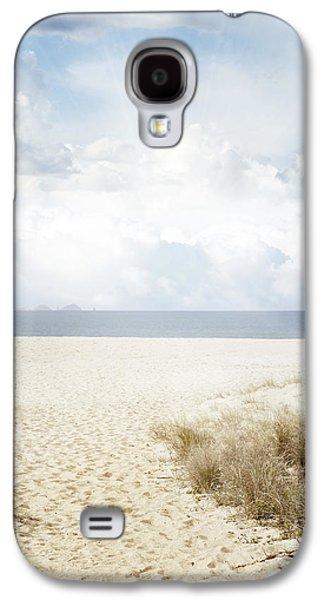 Beach Landscape Galaxy S4 Cases - Beach trail Galaxy S4 Case by Les Cunliffe