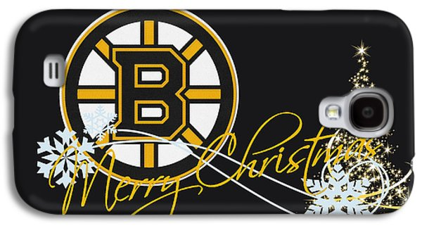 Hockey Photographs Galaxy S4 Cases - Boston Bruins Galaxy S4 Case by Joe Hamilton