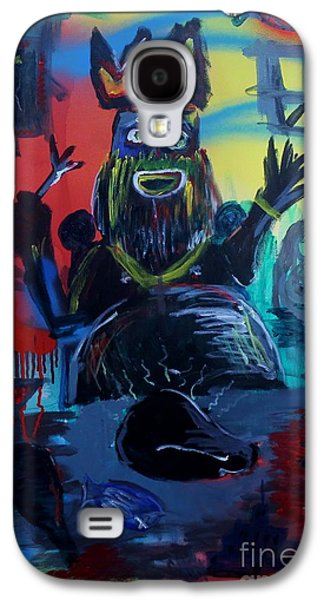 Jay Z Paintings Galaxy S4 Cases - 7 Deadly Sins Galaxy S4 Case by Chris Carter