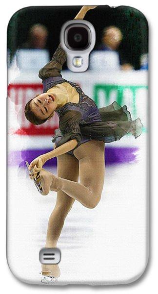 Kim Digital Art Galaxy S4 Cases - Kim Yu-na of South Korea performs Galaxy S4 Case by Don Kuing