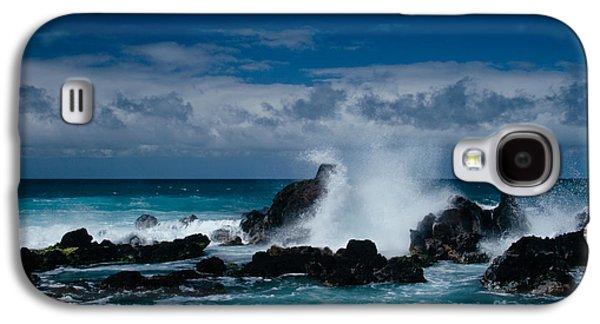 Papa Galaxy S4 Cases - Hookipa Maui North Shore Hawaii Galaxy S4 Case by Sharon Mau