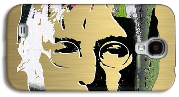 John Lennon Gold Series Galaxy S4 Case by Marvin Blaine