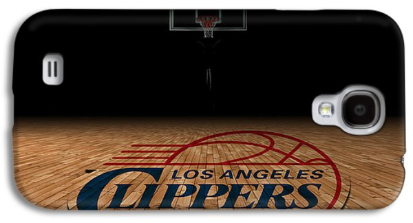 Dunk Galaxy S4 Cases - Los Angeles Clippers Galaxy S4 Case by Joe Hamilton