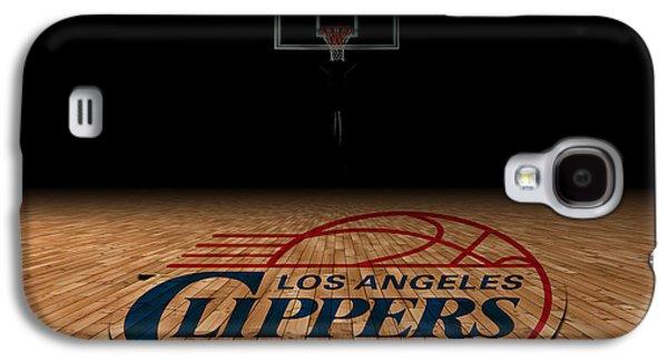 Los Angeles Clippers Galaxy S4 Case by Joe Hamilton