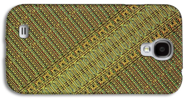 Microchip Galaxy S4 Case by Alfred Pasieka