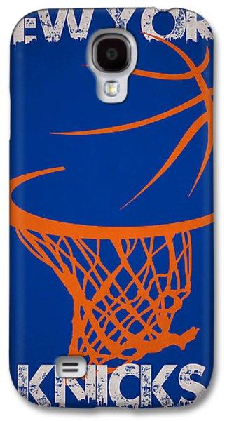 3 Pointer Galaxy S4 Cases - New York Knicks Galaxy S4 Case by Joe Hamilton