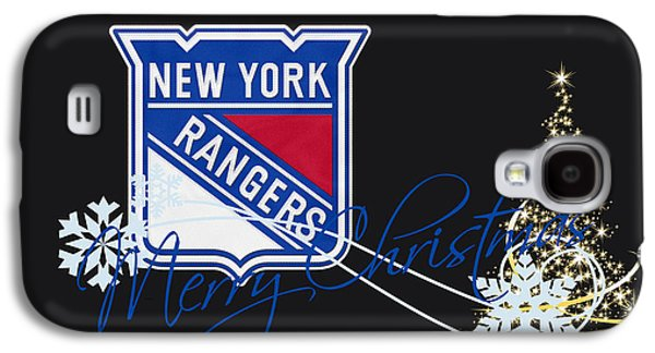 Recently Sold -  - Sports Photographs Galaxy S4 Cases - New York Rangers Galaxy S4 Case by Joe Hamilton