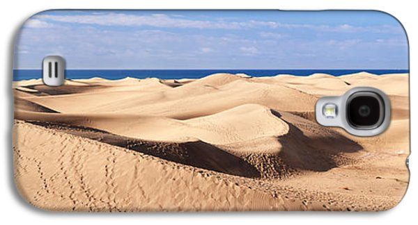 Sahara Sunlight Galaxy S4 Cases - Sand Dunes In A Desert, Maspalomas Galaxy S4 Case by Panoramic Images