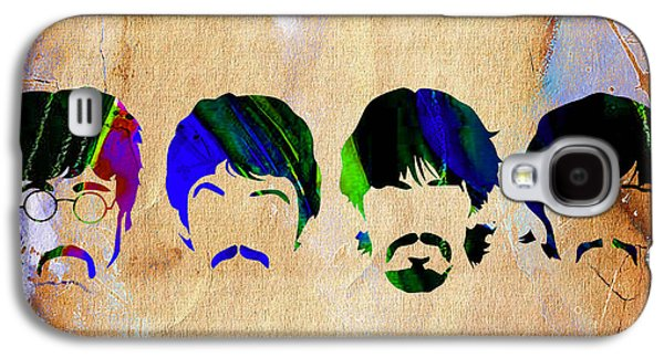 Ringo Starr Galaxy S4 Cases - The Beatles Collection Galaxy S4 Case by Marvin Blaine