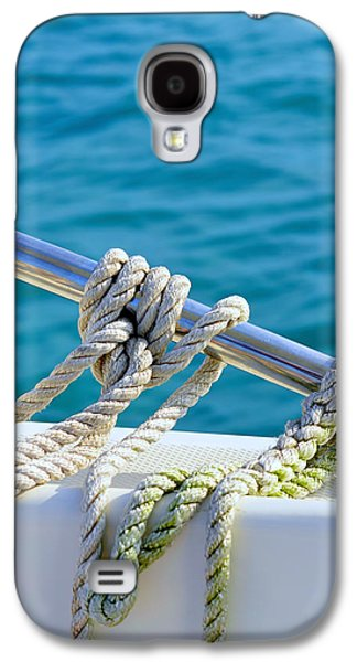 Salt Air Galaxy S4 Cases - The Ropes Galaxy S4 Case by Laura  Fasulo