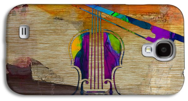 Violin Galaxy S4 Case by Marvin Blaine