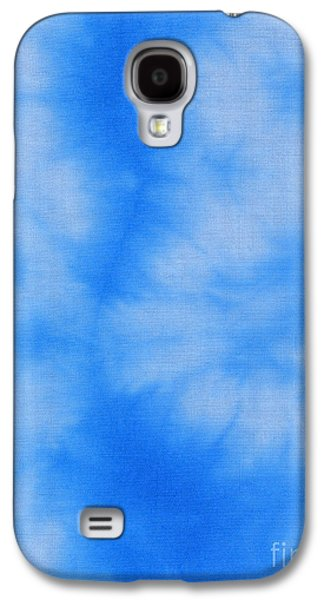 Blue Abstracts Tapestries - Textiles Galaxy S4 Cases - Abstract batik pattern Galaxy S4 Case by Kerstin Ivarsson