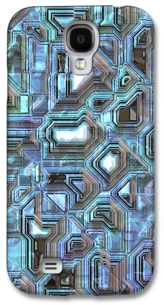 Fantasy Realistic Still Life Galaxy S4 Cases - Abstract  Galaxy S4 Case by Mark Brooks