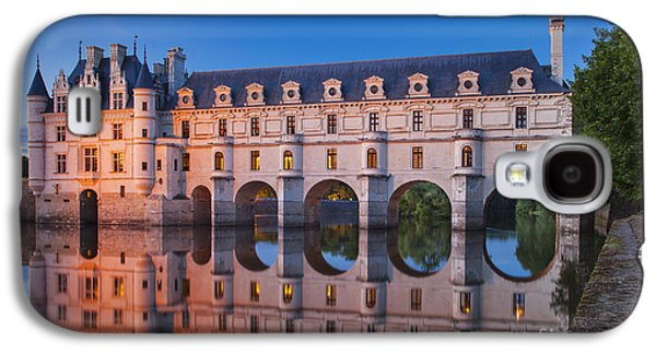 Fantasy Galaxy S4 Cases - Chateau Chenonceau Galaxy S4 Case by Brian Jannsen