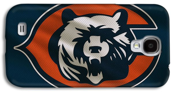 Uniform Galaxy S4 Cases - Chicago Bears Uniform Galaxy S4 Case by Joe Hamilton