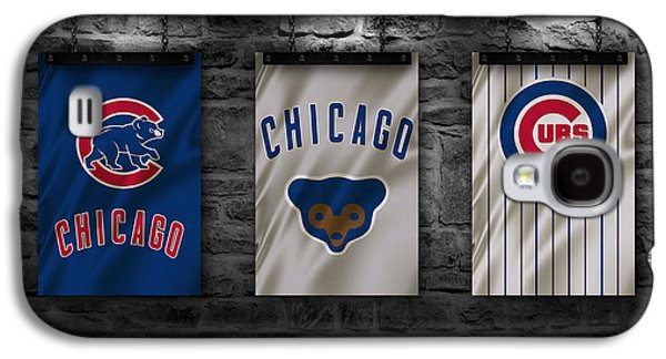 Series Photographs Galaxy S4 Cases - Chicago Cubs Galaxy S4 Case by Joe Hamilton
