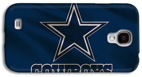 Uniform Galaxy S4 Cases - Dallas Cowboys Uniform Galaxy S4 Case by Joe Hamilton