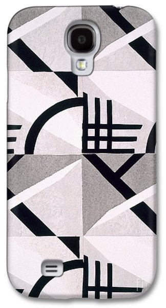 Abstract Forms Drawings Galaxy S4 Cases - Design from Nouvelles Compositions Decoratives Galaxy S4 Case by Serge Gladky