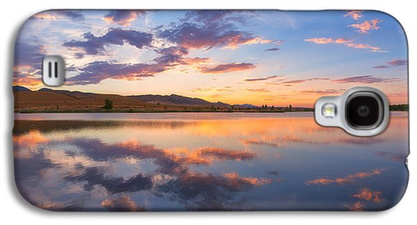Landscape Acrylic Prints Galaxy S4 Cases - 8 Dollar Sunset Galaxy S4 Case by Darren  White