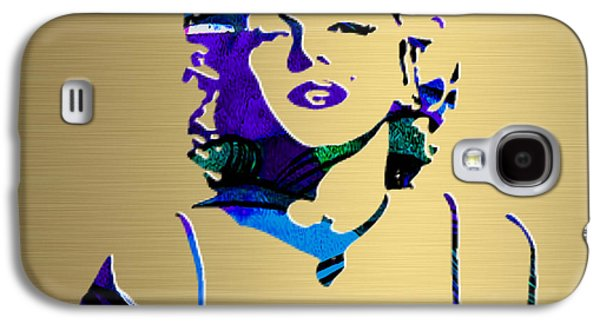Marilyn Monroe Gold Series Galaxy S4 Case by Marvin Blaine