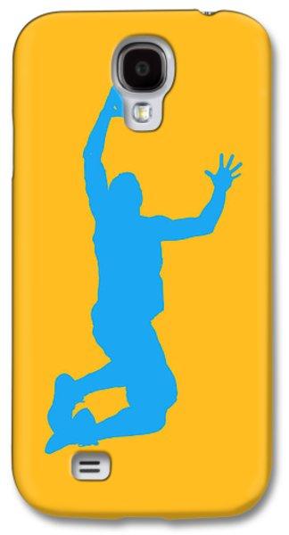 Nba Championship Galaxy S4 Cases - Nba Shadow Players Galaxy S4 Case by Joe Hamilton
