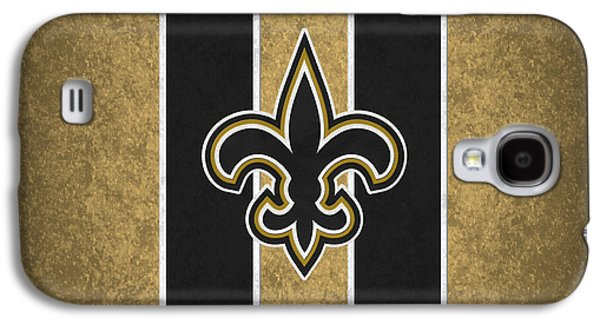Offense Galaxy S4 Cases - New Orleans Saints Galaxy S4 Case by Joe Hamilton