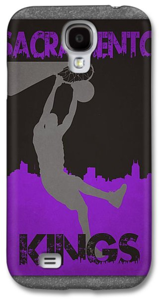 3 Pointer Galaxy S4 Cases - Sacramento Kings Galaxy S4 Case by Joe Hamilton