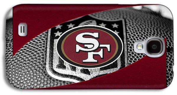 Player Galaxy S4 Cases - San Francisco 49ers Galaxy S4 Case by Joe Hamilton