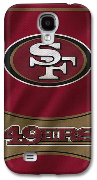 Uniform Galaxy S4 Cases - San Francisco 49ers Uniform Galaxy S4 Case by Joe Hamilton