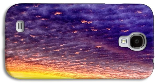 Colorful Cloud Formations Galaxy S4 Cases - Sunrise Drama Galaxy S4 Case by Thomas R Fletcher