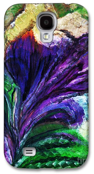 Nature Abstract Pastels Galaxy S4 Cases - Thawed Flower Galaxy S4 Case by Melinda Firestone-White