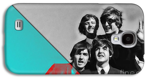 Mccartney Galaxy S4 Cases - The Beatles Collection Galaxy S4 Case by Marvin Blaine