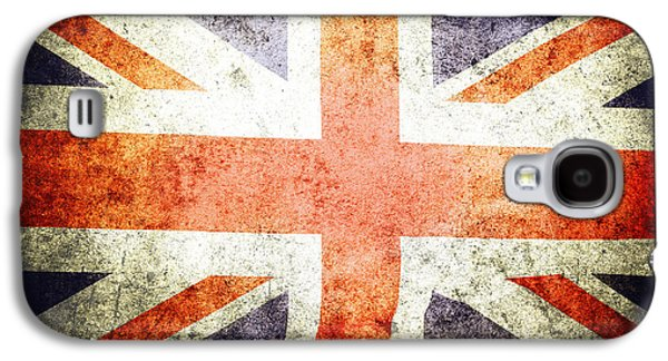 Union Jack  Galaxy S4 Case by Les Cunliffe
