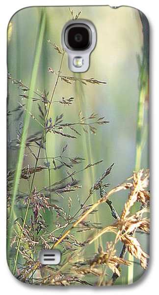 Landscape Acrylic Prints Galaxy S4 Cases - Wildflowers  Galaxy S4 Case by France Laliberte