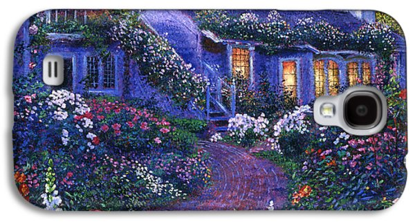 Pathway Paintings Galaxy S4 Cases - 805 The Homecoming Galaxy S4 Case by David Lloyd Glover