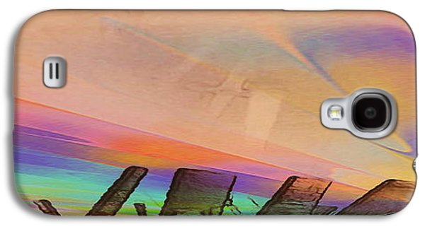 Abstract Digital Drawings Galaxy S4 Cases - 8407 Galaxy S4 Case by Mickey Harris